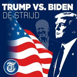 Trump vs. Biden - de strijd logo
