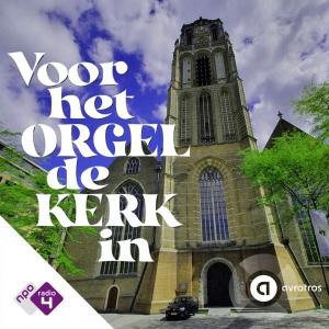 Voor het orgel de kerk in logo